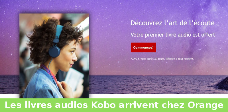 livre audio orange kobo