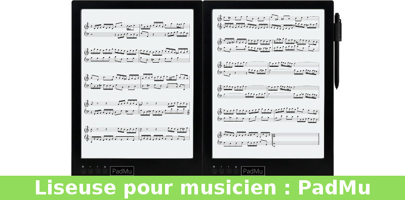 Liseuse PadMu musicien
