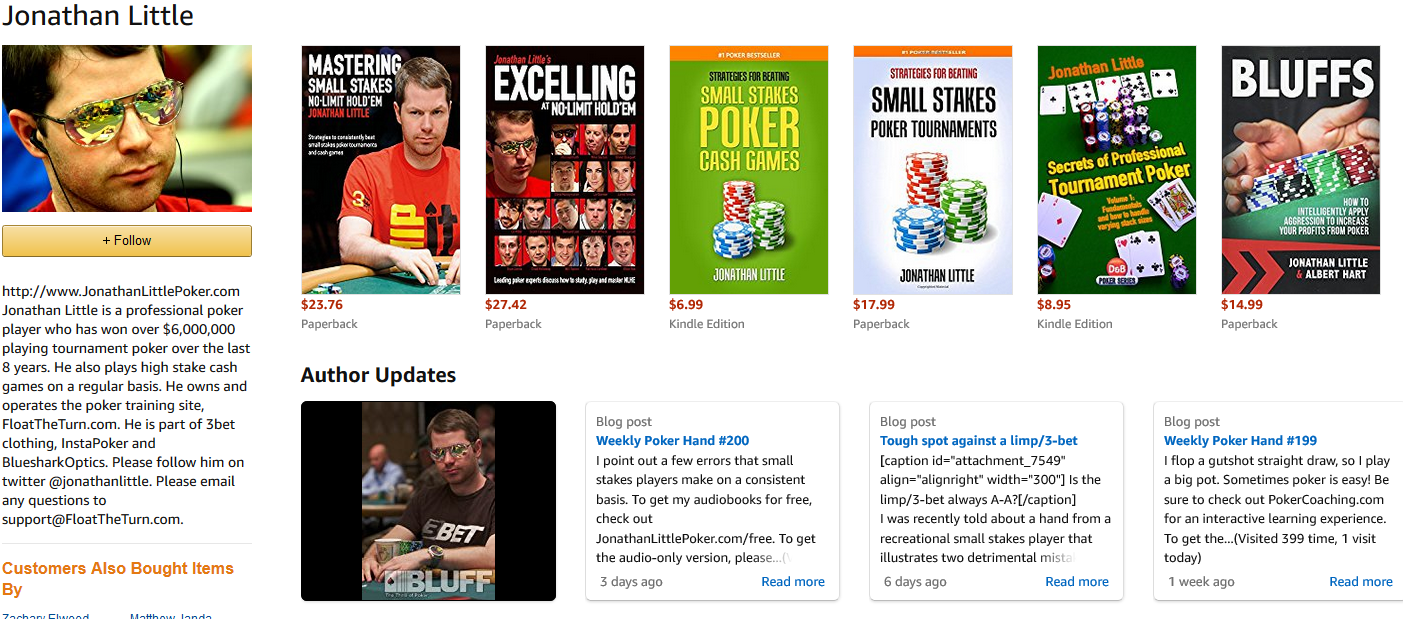ebook de jonathan Little poker