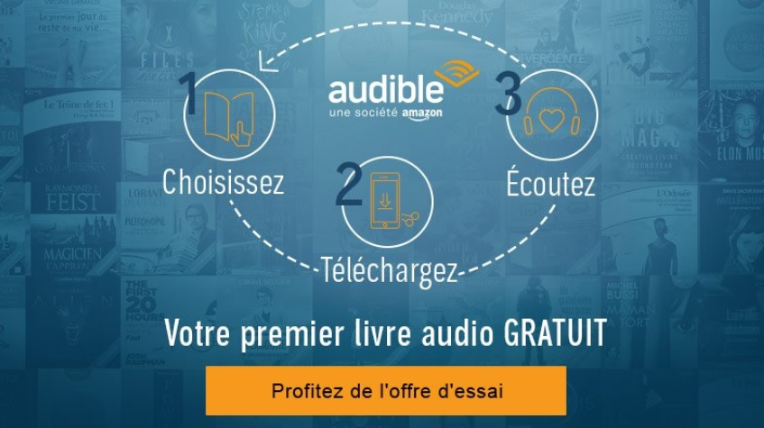 inscription gratuite audible