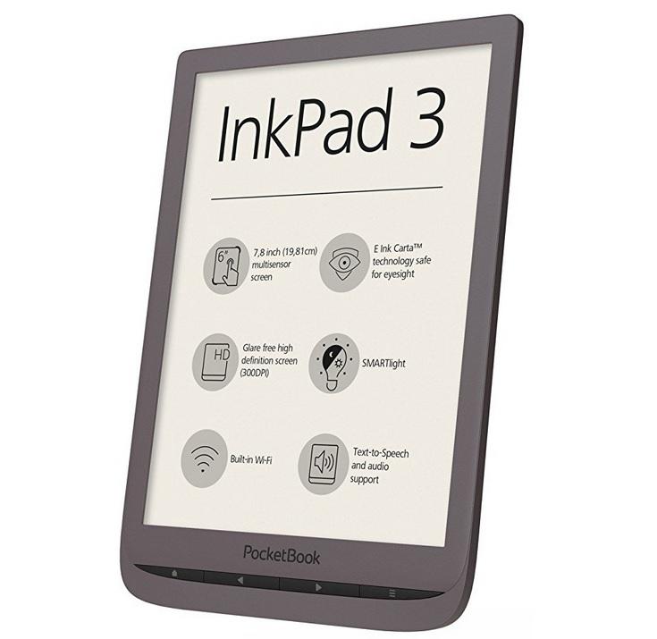 liseuse inkPad 3 dark Brown