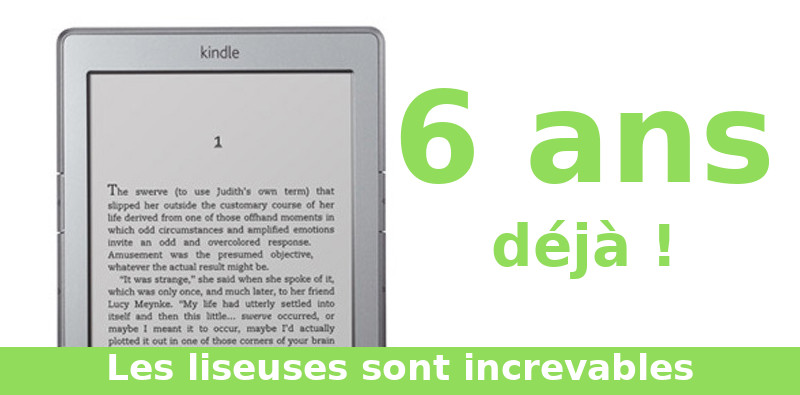 Kindle qui a 6 ans