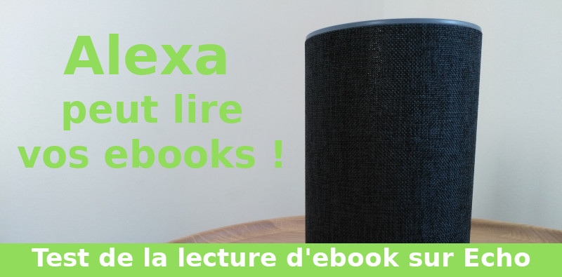 Alexa : lecture d'ebook kindle