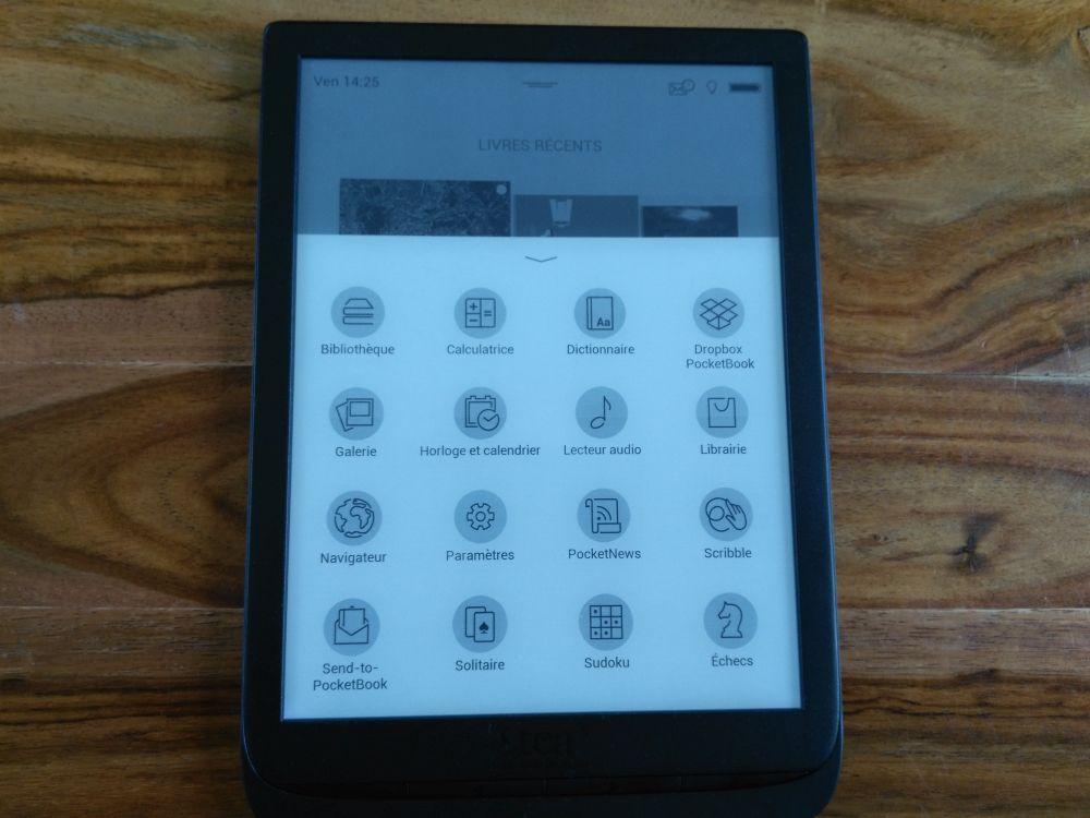 applications inkpad 3 liseuse tea pocketbook