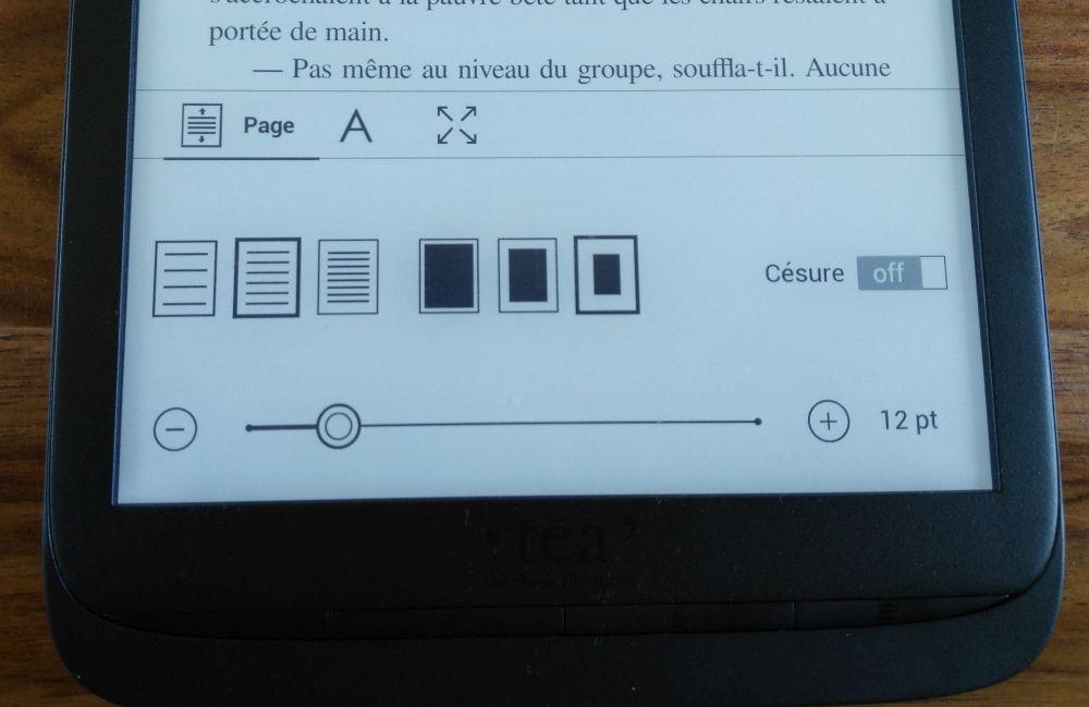 police ebook inkpad 3 liseuse tea pocketbook