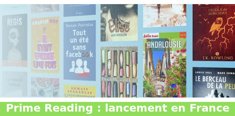 prime reading ebook gratuits France