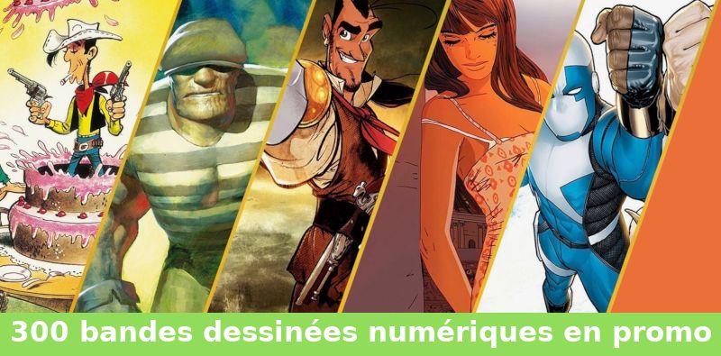 300 bandes dessinées en promotion