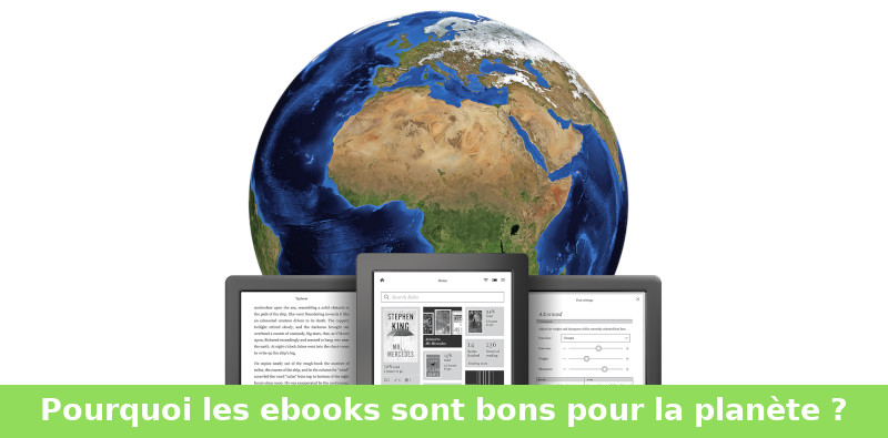 ebook, livre paper écologie