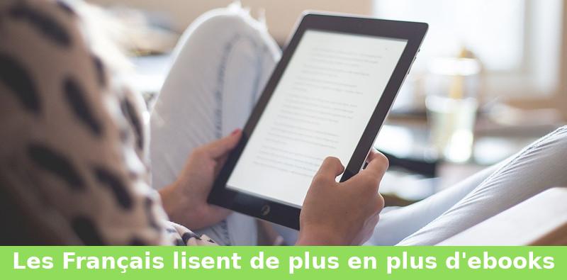 les Français lisent de plus en plus d'ebooks