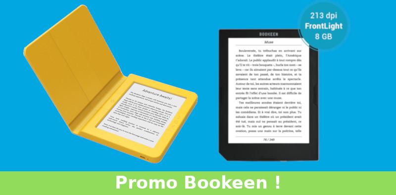 liseuse Bookeen pas chère