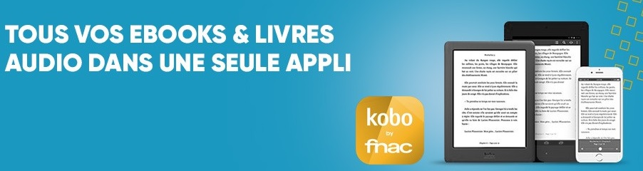 application kobo by fnac