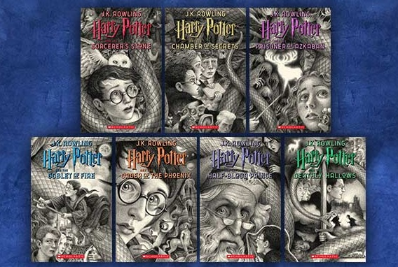 Les ebooks Harry Potter chez WAlmart aux USA