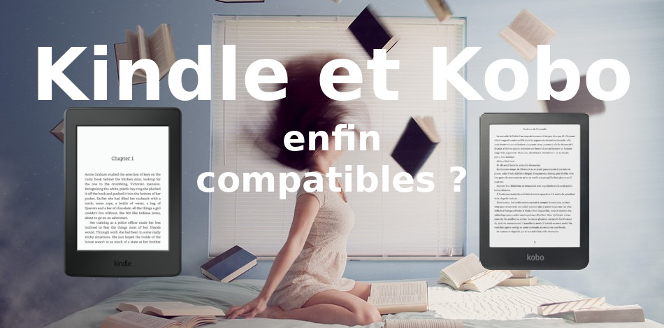 kindle kobo compatible transfert ebook