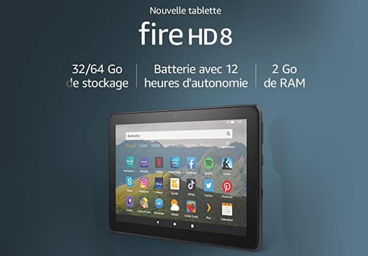 tablette dire hd 8 2020