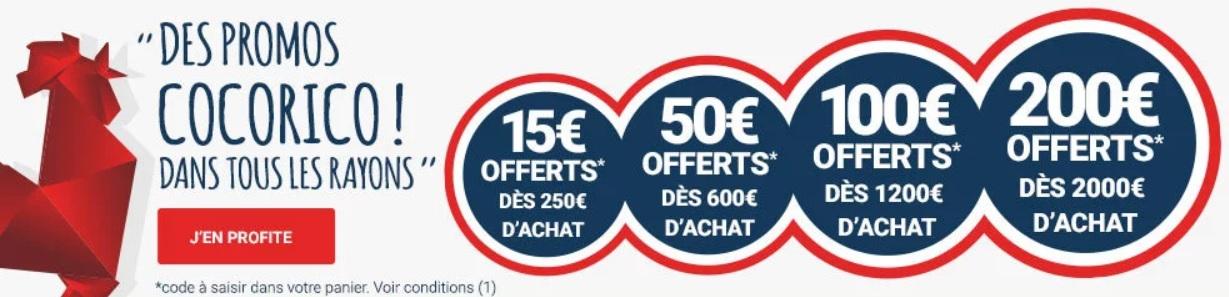 Des offres bien étudiées chez Rue Du Commerce pour les French Days