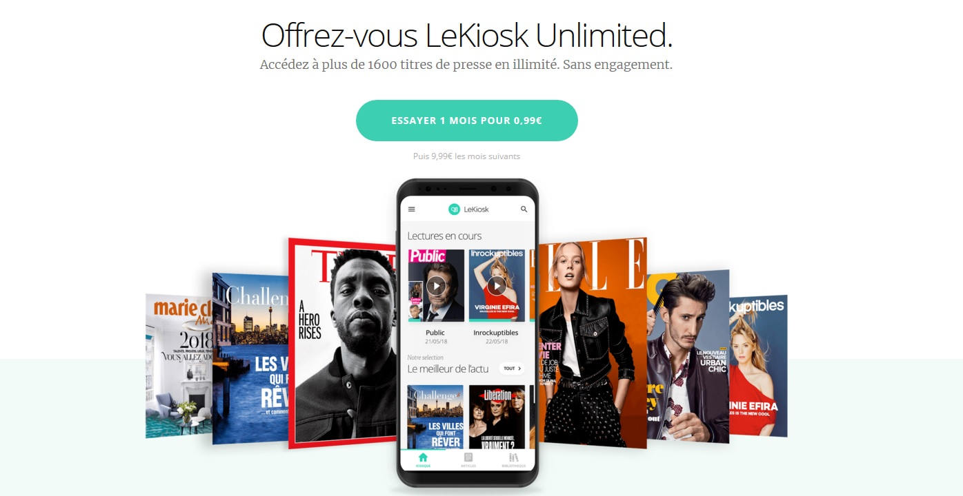 leKiosk Unlimited