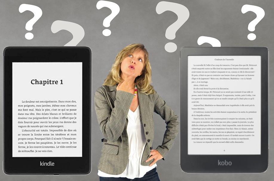 comparatif liseuse Kindle Paperwhite et liseuse Kobo Clara HD