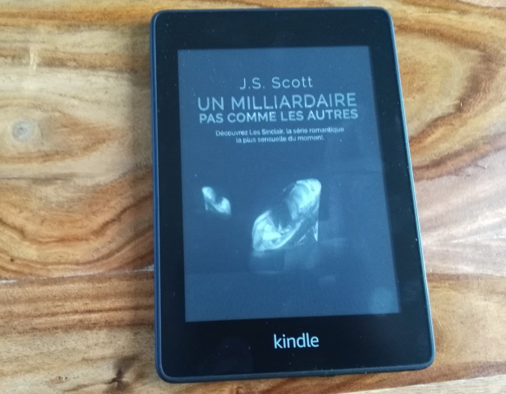 liseuse Kindle Paperwhite 2018