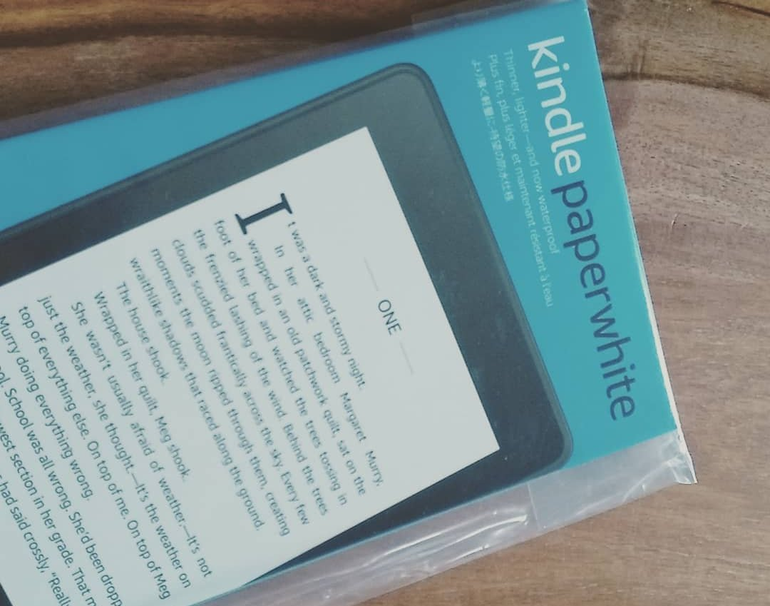 emballage nouvelle liseuse kindle paperwhite 2018