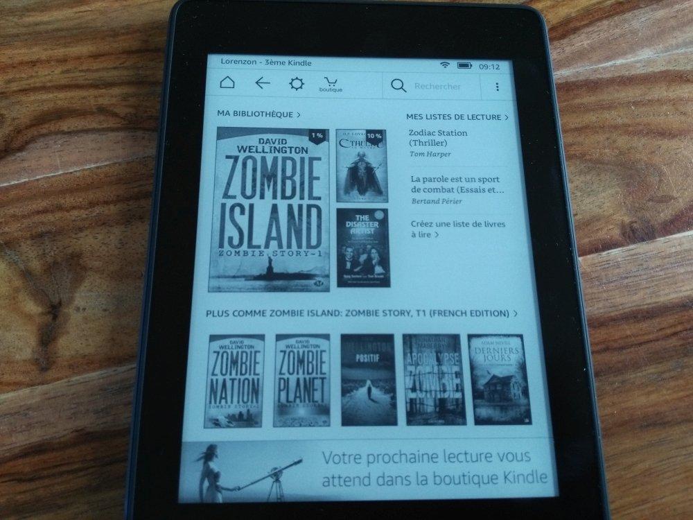 Test de la liseuse Kindle Paperwhite (vidéo)