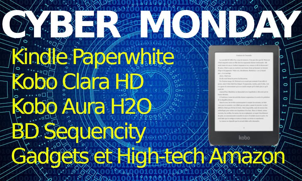 Cyber Monday 2018 Liseuses