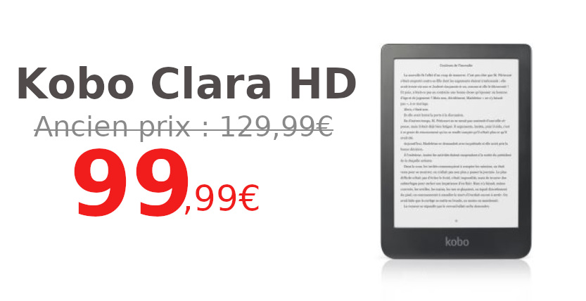Promotion Kobo Clara HD