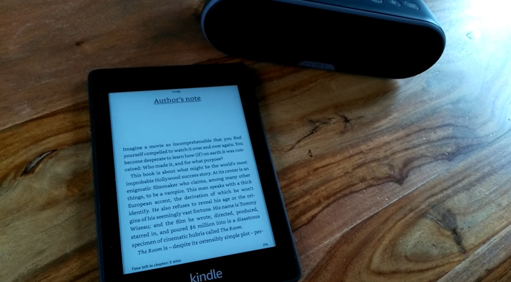 synthèse vocale kindle paperwhite