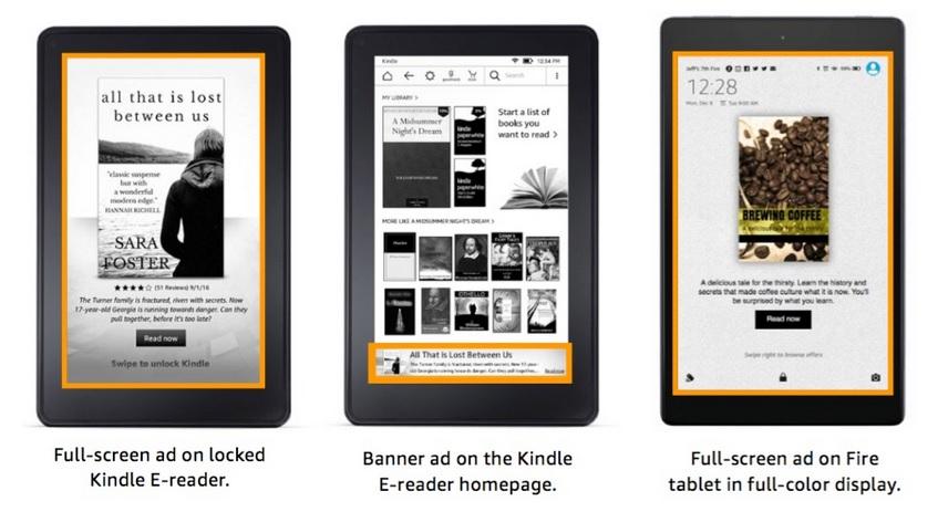 Amazon pubs liseuses Kindle