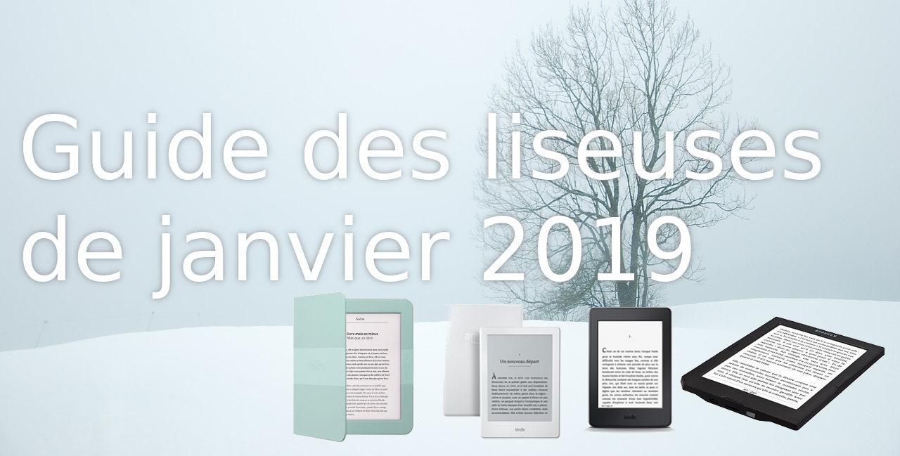 Guide des liseuses de janvier 2019