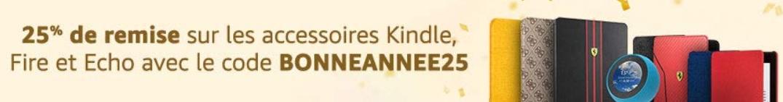 réduction accessoires Fire, Echo, Kindle