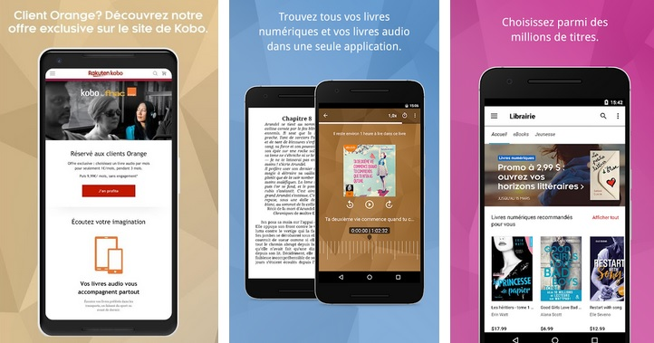 Application Kobo By Fnac Android