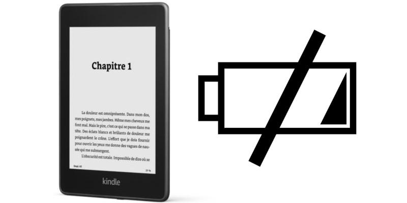 Comment régler batterie déchargée Kindle