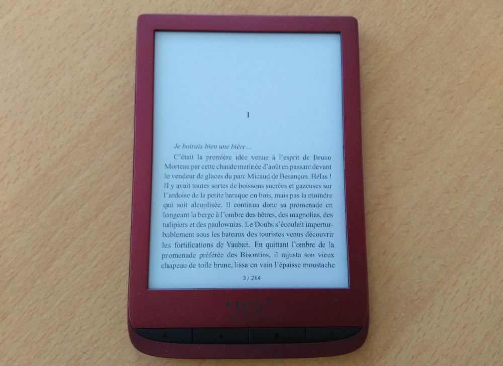 review ereader Tea Touch Lux 4
