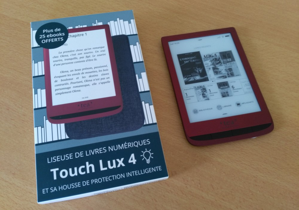 ereader review Touch Lux 4