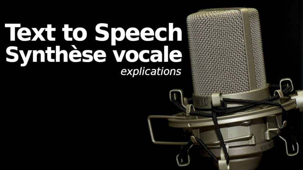 test to speech explications