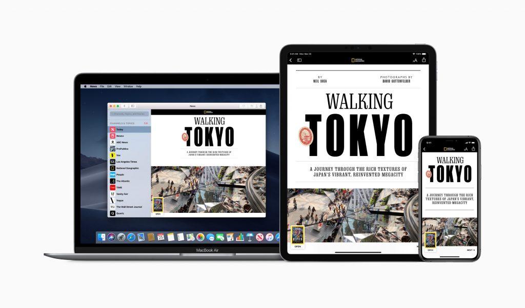 Uniquement sur appareils Apple, Apple News+ sera fermé pour la majorité des lecteurs potentiels
