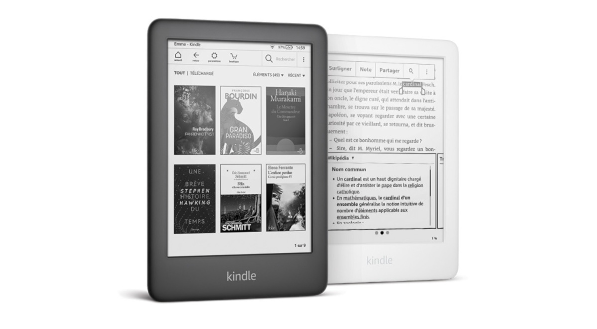 liseuses Kindle en France