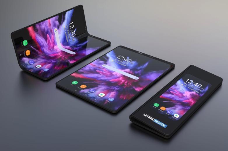 Samsung Galaxy Fold : un concept de smartphone avec écran pliable