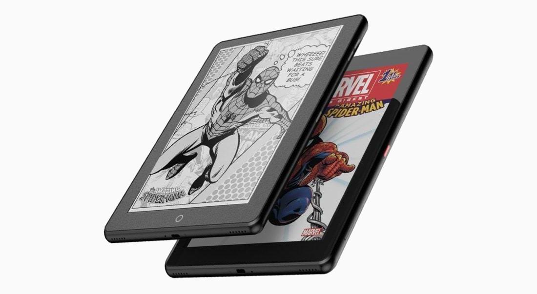 tablette liseuse double écran Janus