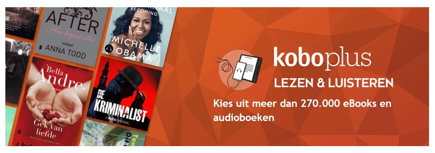 kobo plus livre audio et ebooks