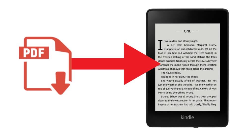 comment lire un pdf sur kindle