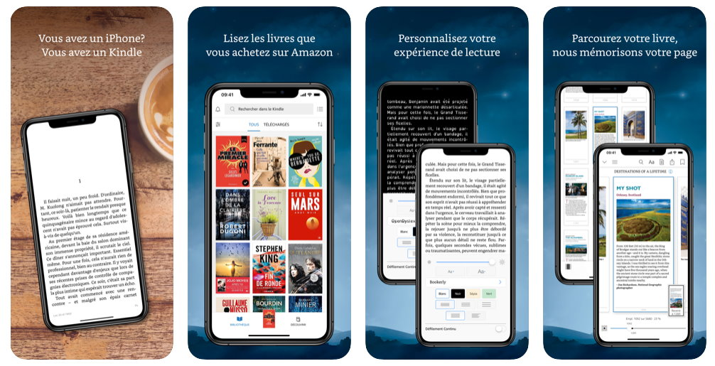 prime reading iphone et ipad