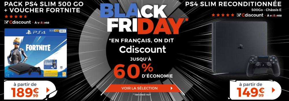 black friday 2019 cdiscount