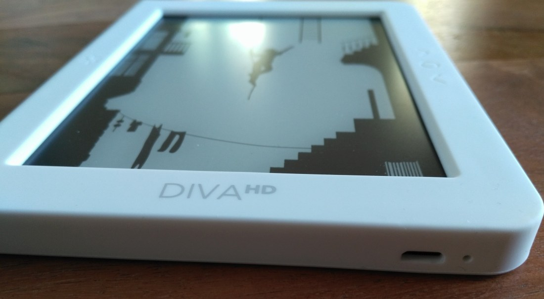 ereader bookeen diva hd review