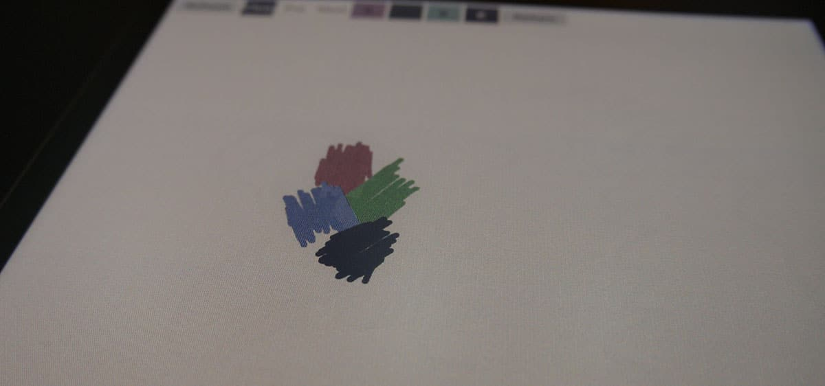 liseuse couleur écran wacom