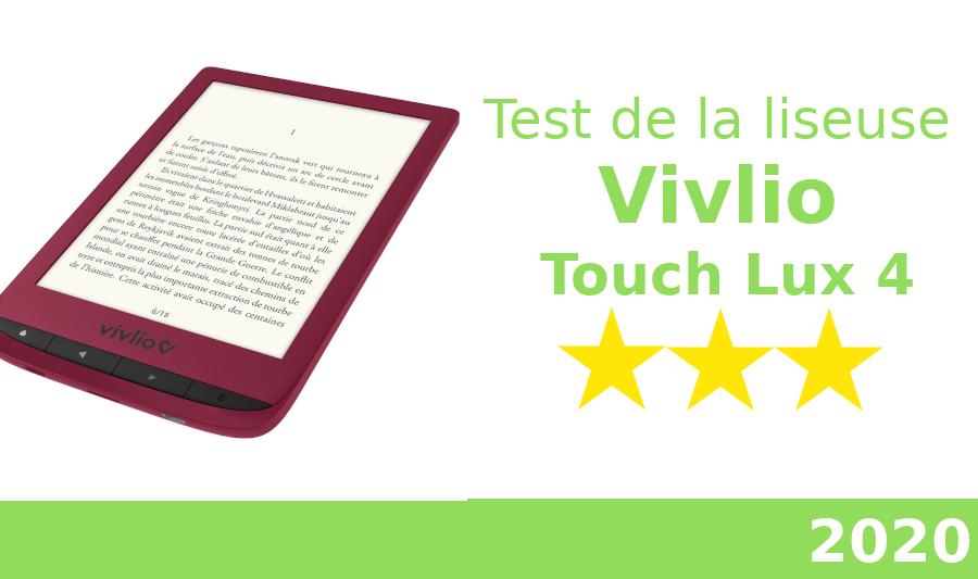 test liseuse Touch Lux 4 de Vivlio