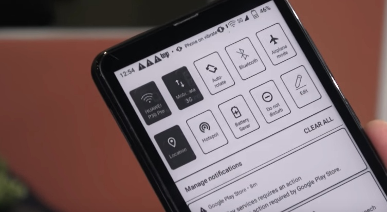 smartphone e ink onyx