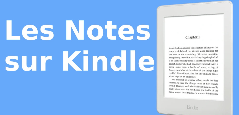 exporter les notes kindle