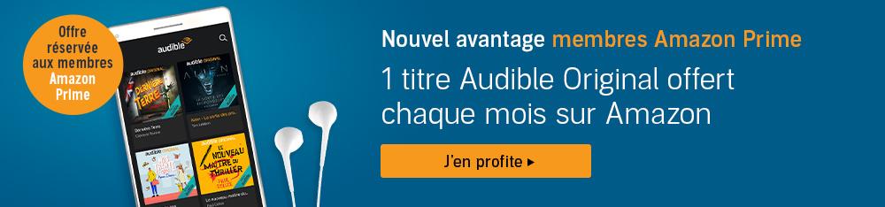 livre audio prime gratuit
