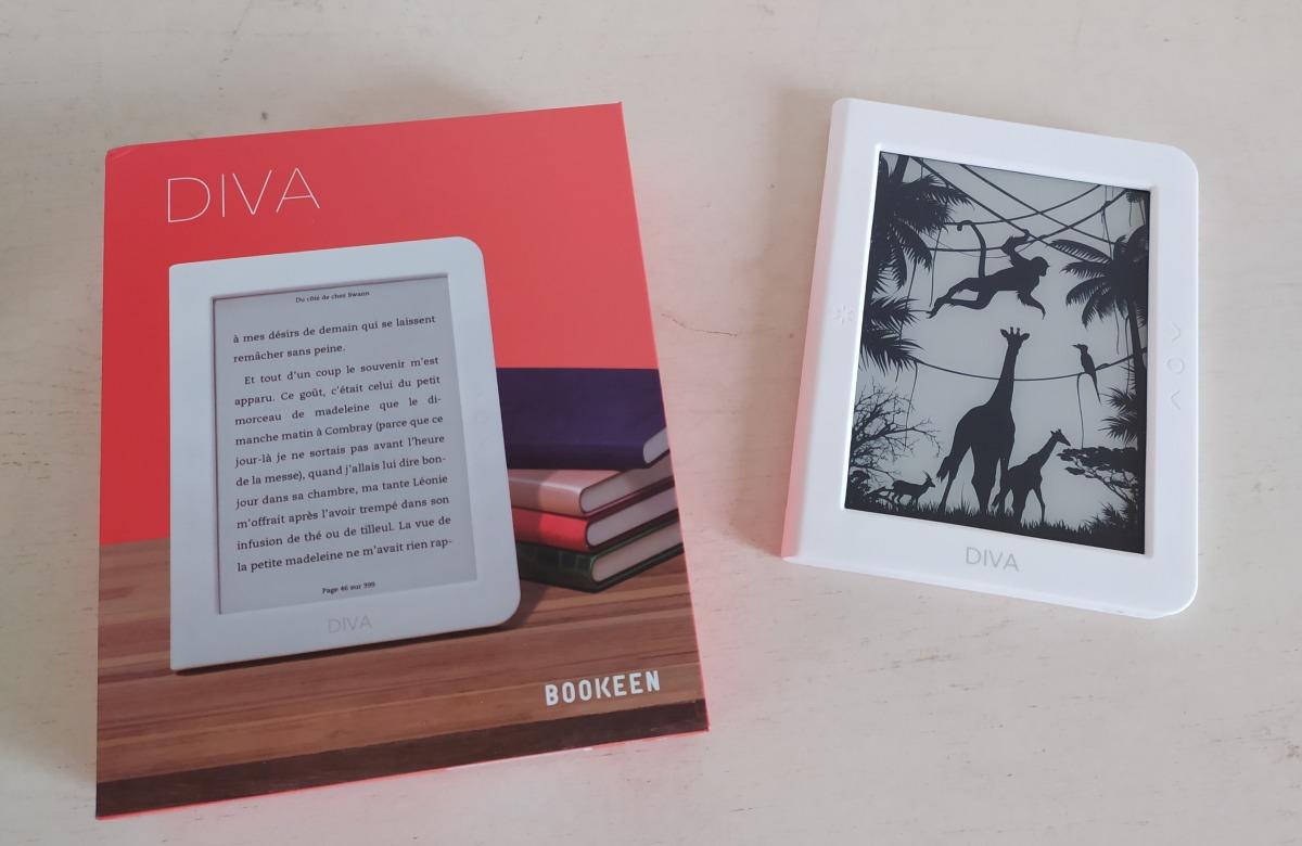 ereader Bookeen Diva